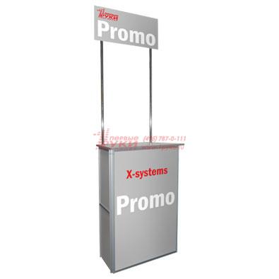 Полка для брошюр промостойки XSystems Promo (икс системс промо)