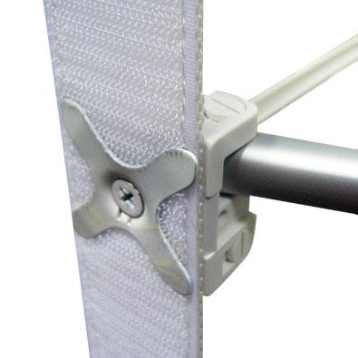 Соединители узлов решётки тканевого зонтичного стенда Expand MediaFabric (экспанд медиа фабрик)